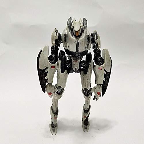 ioth Anime Pacific Rim Mecha Mecha Blanca MOBLE Decoración Modelo de Regalo 30 cm
