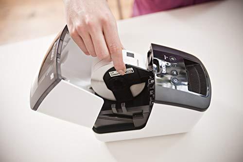 Brother QL700 Stampante per Etichette, Collegabile a PC, Plug&Print, Rotoli DK fino a 62 mm, 93 Etichette al Minuto, senza Wi-Fi, Stampa in Nero