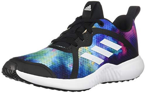 adidas unisex child Fortarun X Running Shoe, Black/White/Black 1, 4.5 Big Kid US