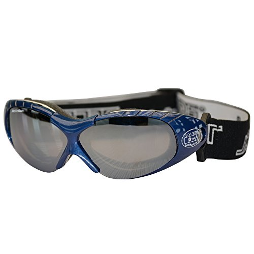 Spark Blue Sunglasses Floating Water Jet Ski Goggles Sport Designed for The Demands Regularly Encountered While Kite Boarding, Surfer, Kayak, Jetskiing, Other Water Sports.