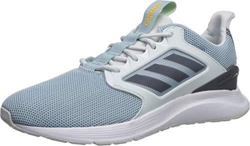 adidas Women's EnergyFalcon X Running Shoe, Blue Tint/Onix/ash Grey, 7 M US