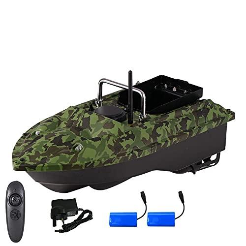 Barca da Pesca Smart RC ad Alta velocità C18 500m Dual Night Light Light velocità Fissa Cruise Automatic Feed Controllo Wireless RC Bait Boat, ecoscandaglio da Pesca.WQQWQQ-8521 (Color : Sky Blue)