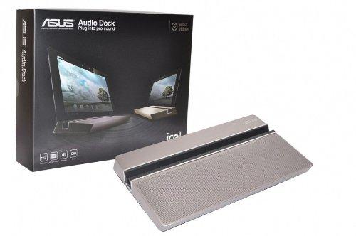 ASUS Transformer Pad (TF300T) Original Audio Dock Gold Micro USB Docking Station inkl. 36W Netzteil
