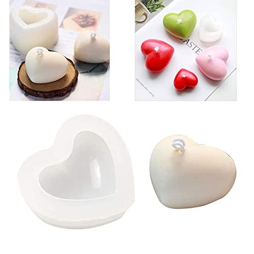 Silicone Fai ba te Candele Stampo,Cubo 3D Stampo in Silicone,Silicone Stampo per Sapone Fatto,3D Candela Stampi,Candela Stampi (B)