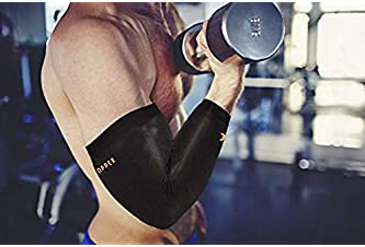 Thx4COPPER Elbow Compression Sleeve(1 Pair) - #1 Copper Infused Support –Guaranteed Recovery Copper Elbow Brace-Idea ...