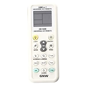 Aire acondicionado de control remoto - TOOGOO(R)Mando a distancia-Pantalla LCD universal A / C Mando a distancia para el aire acondicionado de K-1028E