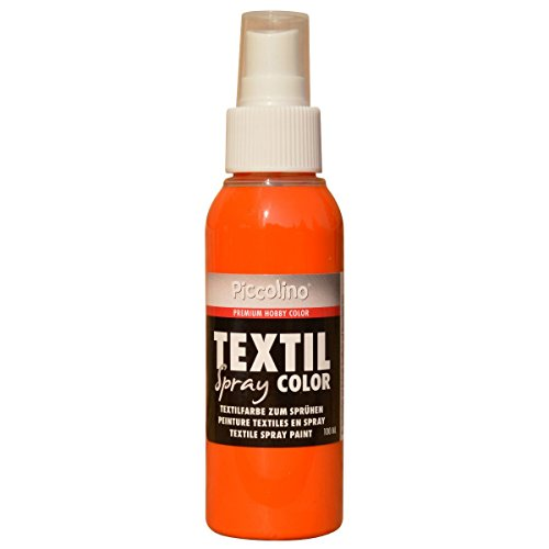 PICCOLINO Spray textil – 100 ml naranja – Pintura textil para spray