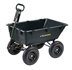Gorilla Cart Heavy-Duty Garden Cart