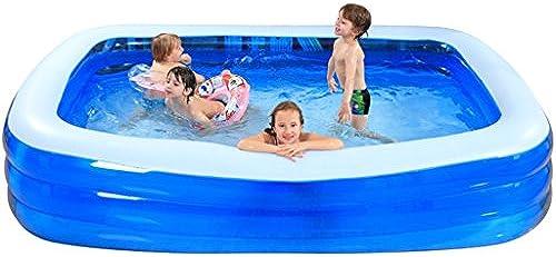 mizii Badewanne aufblasbar Kinder Pool Familie sehr Größe Planschbecken multi-Größe optional (26cm30cm  , 366cm)30cm