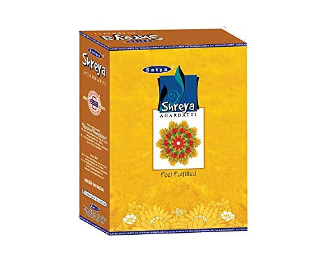 これまでメロドラマ飛行場Satya Shreya Incense Sticksボックス240?gmsボックス