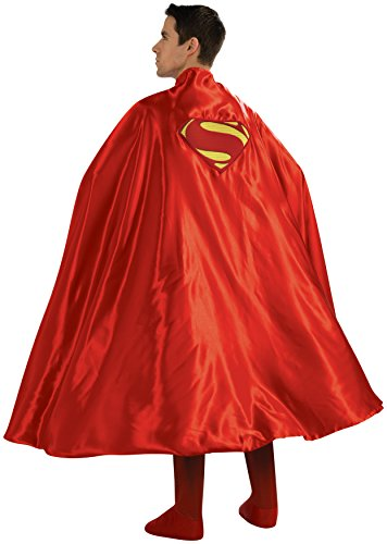 Rubie's-déguisement officiel - Superman -Cape Superman adulte - Taille Unique- CS988202