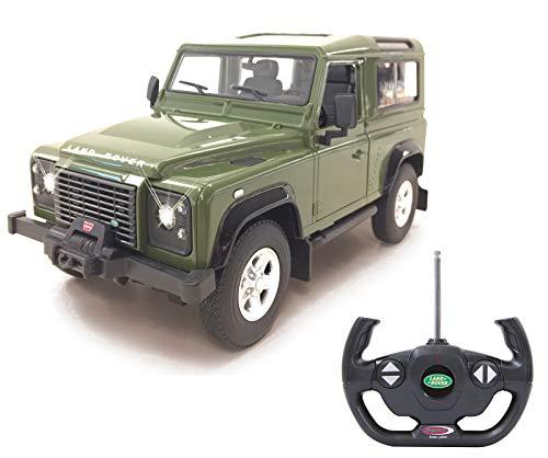 Jamara 405155 - Land Rover Defender 1:14 grün Tür manuell 40MHz - RC Auto, off...
