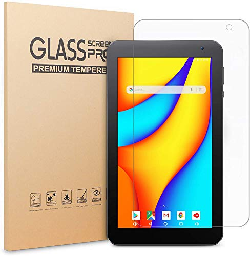 (2 Packs) VANKYO Glass Screen Protector for Vankyo MatrixPad S7/Z1 Tablet 7 inch, Tempered Glass High Definition/Scratch Resistant