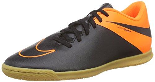 Nike Herren Hypervenom Phade II IC Fußballschuhe, Mehrfarbig (Black/Black/Total Orange/Total Orange), 44 EU