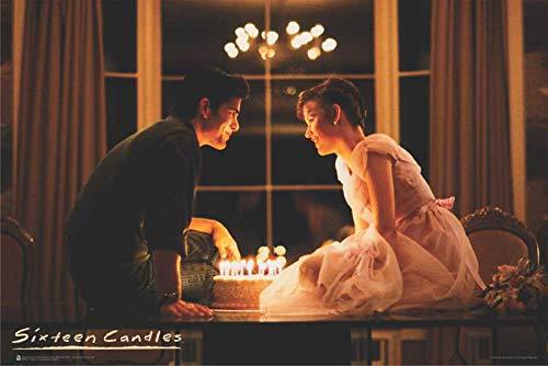 Sixteen Candles Make a Wish Samantha & Jake Movie Poster - 36' x 24'