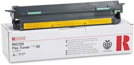 Ricoh Toner, Type 30, Logo Box, for 3000/3200L Fax Machines