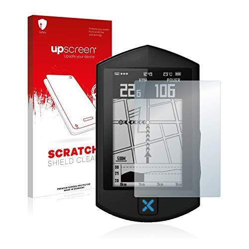upscreen Protector Pantalla Compatible con Xoss Sprint Película Protectora – Transparente, Anti-Huellas