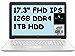 "2021 Newest Premium HP 17 Laptop Computer 17.3"" FHD IPS, 10th Gen Intel Quad-Core i5-10210U(Beat i7-8550U), 12GB RAM, 1TB HDD, Backlit Keyboard, HDMI, WiFi, Webcam, DVDRW, Windows 10+AllyFlex MP"