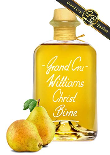 Grand Cru Williams Christ Birne 1L fruchtig & weich Edelspirituose 40% Vol kein Birnenbrand