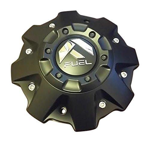 Fuel Wheels Black Center Cap Cap 1001-63-B Cap M-447 Five and Six Lugs