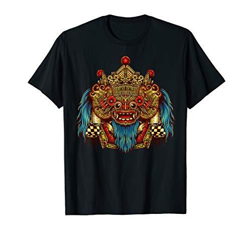 Barong Maske Shirt Drachen Geschenk T-Shirt