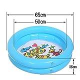 NAWXC Baby-Pool, Dicke Runde Paddeln Ozean Ball Pool, Aufblasbare Badewanne, Sommer Wasser Spielzeug Party Schwimmbad Für Kinder