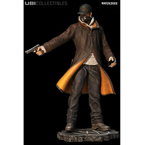 YYBB Watch Dogs Figur: Aiden-Pearce Statuette Action Figure Model Collection Meisterwerk Geschenk Dekoration Spiel Models Figurines