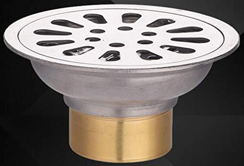 Abflusssieb Dusche Sieb Abfluss 304 Edelstahl 9 Cm Runder Bodenablauf Mit Deodorant Küche Badezimmer Waschmaschine Balkon Bodenablauf Mit Doppeltem Verwendungszweck, Einweg