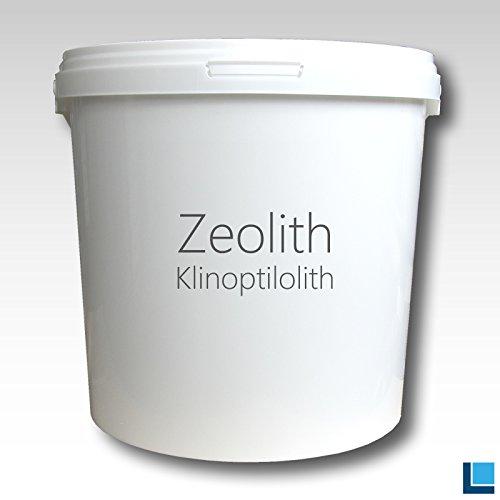 labradorit.de Zeolithpulver Klinoptilolith 50 µm rein ohne Zusätze 8000g Eimer
