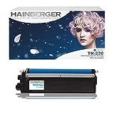 Hainberger - Tóner para impresora Brother DCP-9010, DCP-9010 CN, HL 3040 CN, HL 3070 CW, MFC-9120 CN y MFC-9320 CW equivalente al modelo TN-230 (1400 páginas, tinta cian)