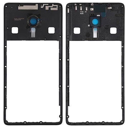 Liluyao Partes móviles Bisel del Marco Medio con Lente de cámara for Lenovo ZUK Z2 Pro (Negro) (Color : Black)