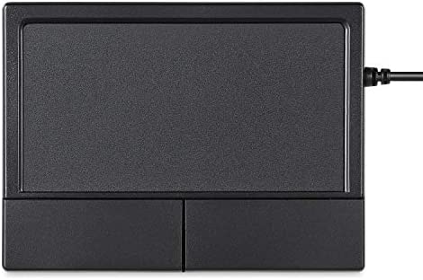 Perixx PERIPAD-501 Wired USB Touchpad, Portable Trackpad for Laptop and Desktop User, Black, Small Size (11284)