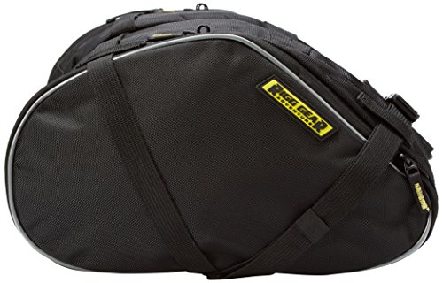 Nelson-Rigg RG-020 Black Dual Sport Motorcycle Saddlebag