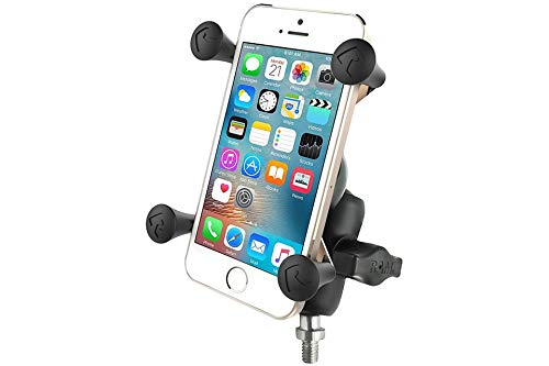 RAM Mounts Universal X-Grip Holder for Smartphones - Base Ball with 3/8-16 Inch Screw