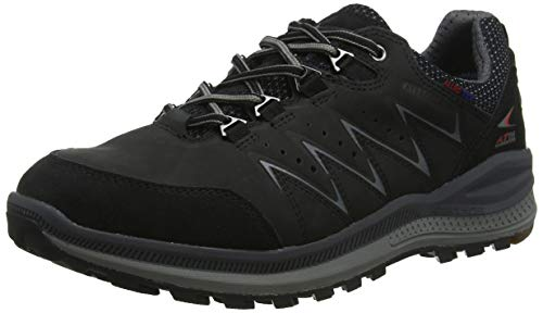 Allrounder by Mephisto Rake Off tex, Chaussures de Cross Homme, Noir (Black Core Suede 1 Nubuk 1), 45 EU
