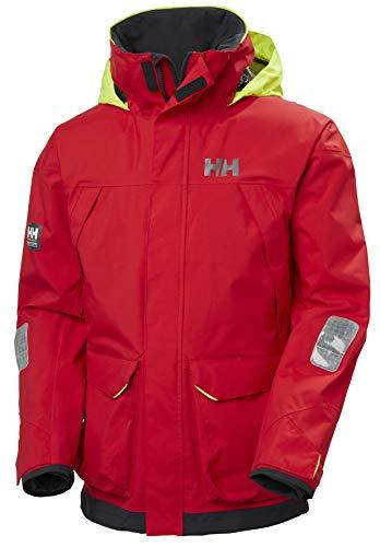 Helly-Hansen Mens Pier Sailing Jacket, 222 Alert Red, X-Large