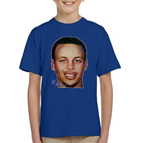 VINTRO Stephen Curry - Camiseta para niño (impresión profesional)