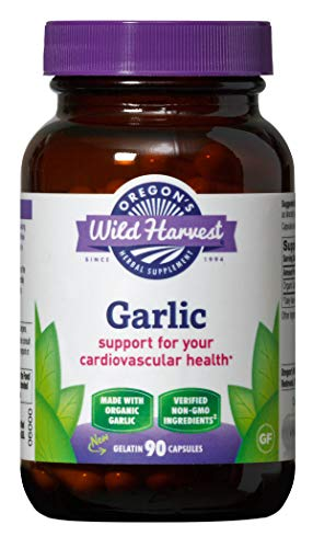 Oregon's Wild Harvest Garlic Organic Herbal Supplement