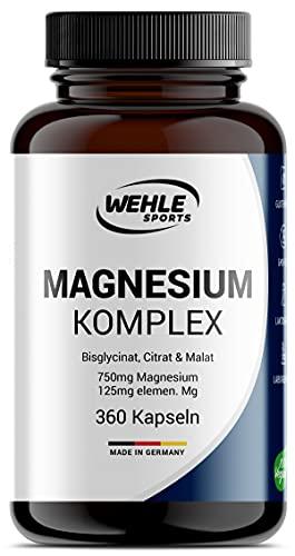 MEINE EMPFEHUNG: Dieser Magnesium Komplex in Kapselform