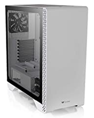 [4mm THICK TEMPERED GLASS PANEL] - Tool free door lock design which s durability and style [BUILT-IN WINDOWED POWER COVER] - Equipped with a PSU cover with a ventilated design to improve airflow and hide those unsightly cables [GPU PLACEMENT SUPPORTS...