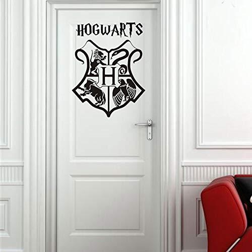 wandaufkleber 3d Wandtattoo Wohnzimmer Harry Potter Hogwarts Schild Logo Wappen Tür Dekor/Auto Pvc Aufkleber geschnitten Vinyl Wandkunst