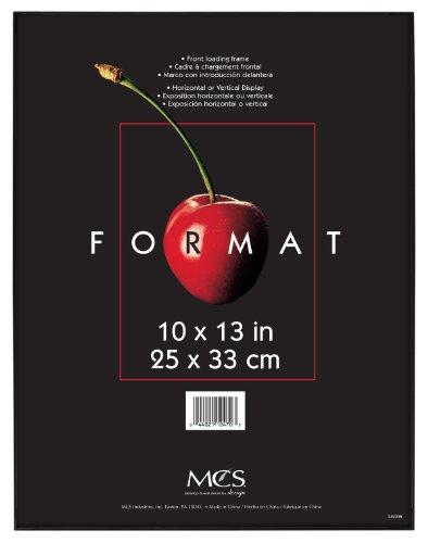 MCS 12470Deko-Format Rahmen, 10von 33cm, schwarz schwarz