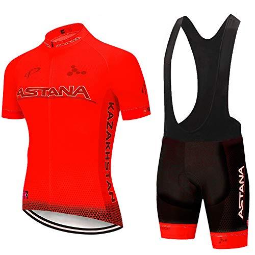Wielrenshirt Korte mouw Heren Dames Unisex MTB Fietskleding Racefiets Shirts Shorts Gewatteerde broeken