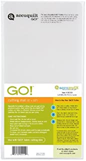 AccuQuilt GO! Cutting Mat; 5-inch-by-10-inch by AccuQuilt