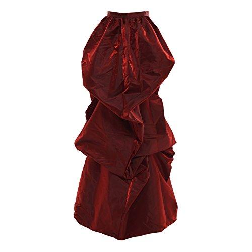 GRACEART Viktorianisch Steampunk Treiben Gürtel Burleske Kostüm (Rot)