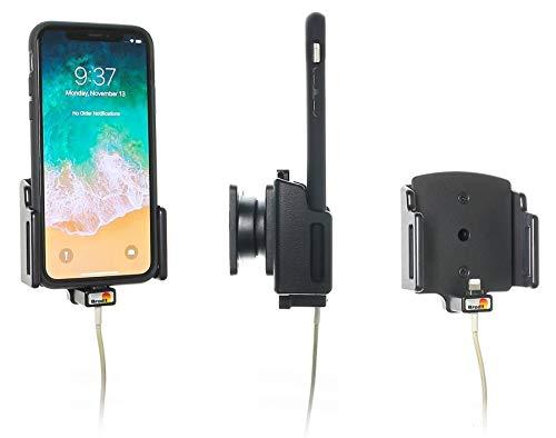 Brodit Gerätehalter 716013   Made IN Sweden   für Smartphones - Apple iPhone 11, iPhone X, iPhone XS, iPhone XR, iPhone 11 Pro