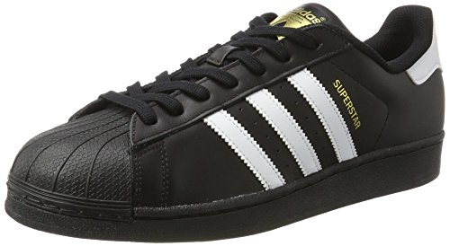 adidas Originals Superstar, Zapatillas Unisex Adulto, Negro (Core Black/ftwr White/Core Black), 42 2/3 EU