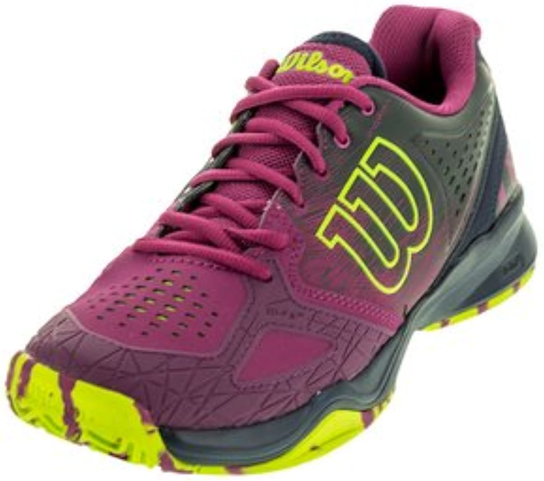 WILSON KAOS Comp Women's Tennis shoes Purple Navy Neon