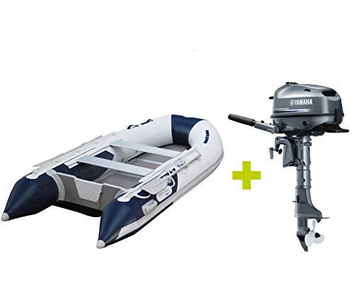 Prowake Schlauchboot AL 330 mit Aluminiumboden und Yamaha Außenbordmotor F6 CMHS