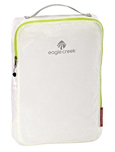 Eagle Creek Ultra-Light Packing Solution Pack-It Specter Cube Medium Organizer for Suitcases Organiseur de Bagage, 36 cm, 10.5 liters, Blanc (White/Strobe)